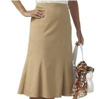 Короткая юбка годе