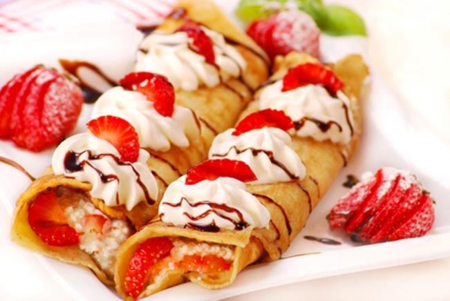 Самые красивые десерты Порционные десерты, Вишневые