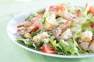 салат цезарь с креветками классический рецепт фото