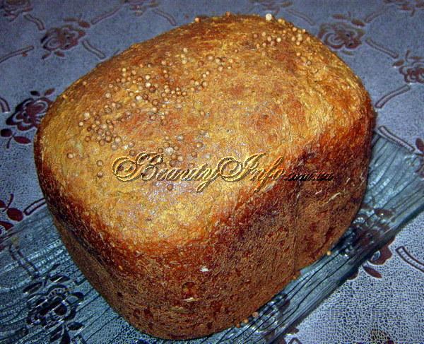 рецепты приготовление ржаного хлеба в хлебопечке рецепты