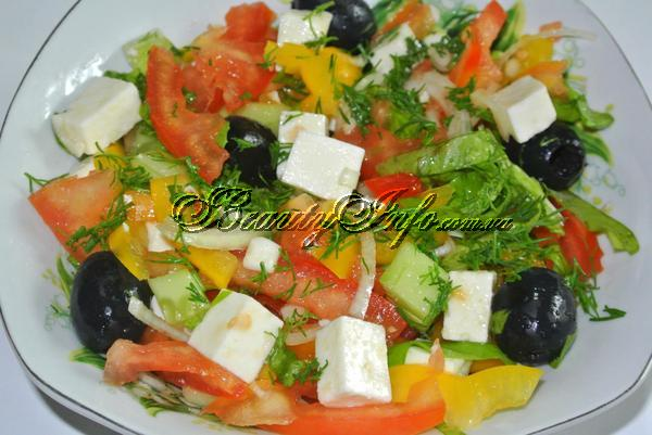 сырный салат рецепт с сыром
