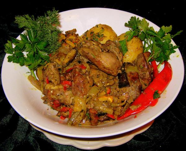 Солянка с грибами и капустой рецепт в сковороде