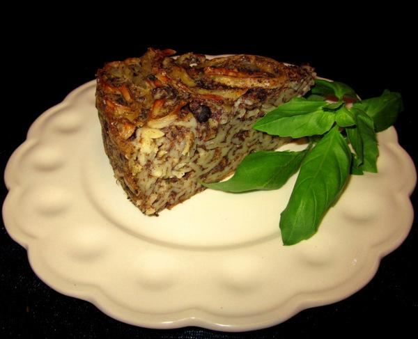 Салат из консервированных шампиньонов с ветчиной