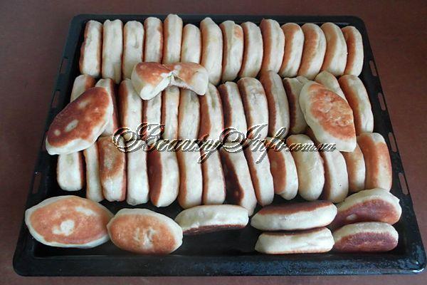 Пирожки на кефире с картошкой
