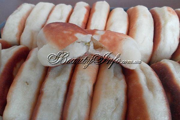 Пирожки на кефире с картофелем