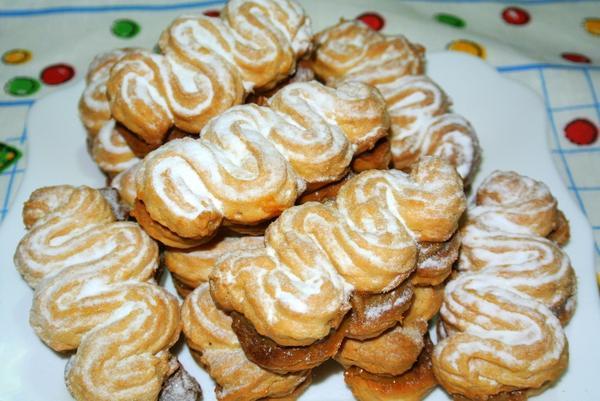 Печенье с вареной сгущенкой