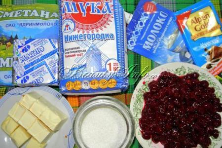 Ингредиенты для торта - фото 1