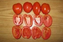 Приготовление вяленых помидоров - шаг 2.