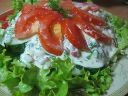сливочный сыр рецепт салата