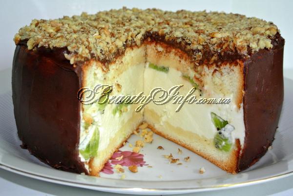 Торт бисквитный рецепт с фото для детей