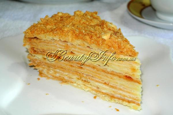 рецепт торта наполеон оригинал