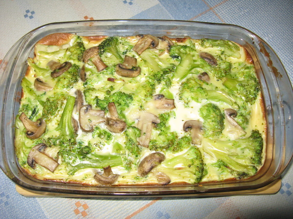 Блюда из брокколи с мясом