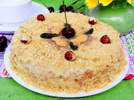 крекерный торт рецепт