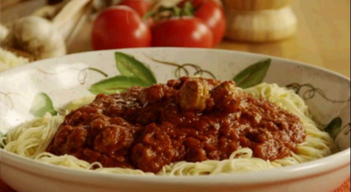 Тефтели к спагеттиы